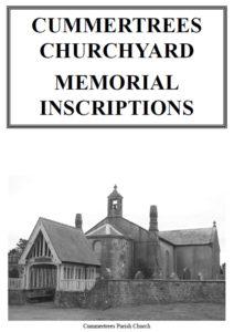 Cummertrees Churchyard Memorial Inscriptions 2019