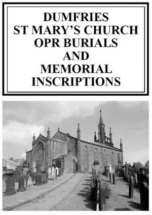 Dumfries St Mary's MI-OPR 2018