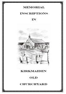 Kirkmaiden Old Churchyard MI 2005