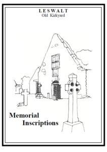 Leswalt Old Churchyard MI 2003