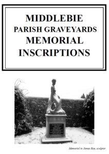 Middlebie Parish Graveyards MI 2013