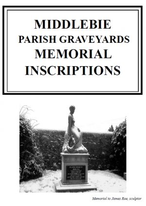 Middlebie Parish Graveyards MI 2013