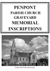 Penpont Churchyard MI 2006