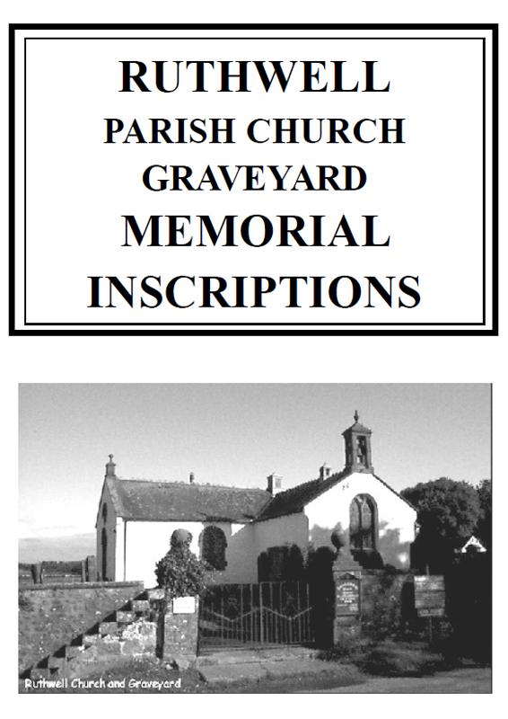 Ruthwell Churchyard MI 2006