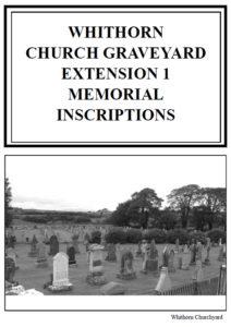 Whithorn Churchyard Extension MI 2011