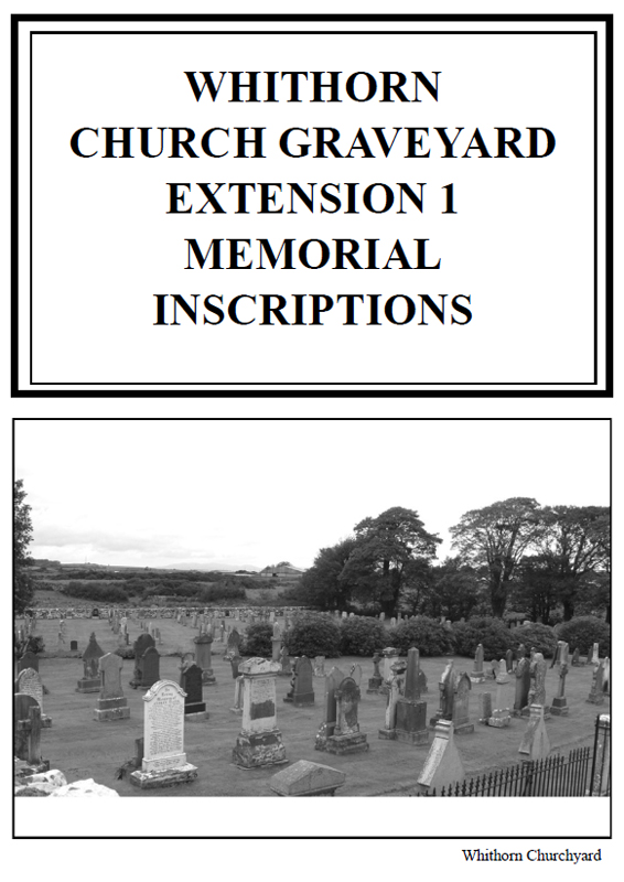Whithorn Churchyard Extension MI 2011
