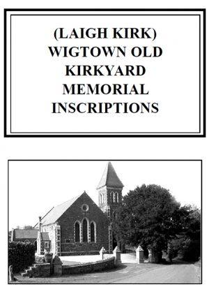 Wigtown Old Churchyard MI 2011