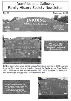DGFHS Newsletter Vol. 063 200811