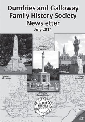 DGFHS Newsletter Vol. 080 201407