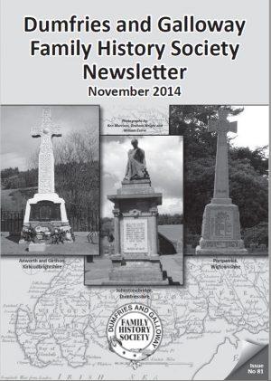 DGFHS Newsletter Vol. 081 201411