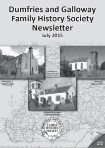 DGFHS Newsletter Vol. 083 201507