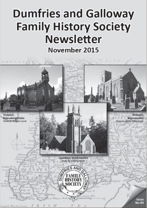 DGFHS Newsletter Vol. 084 201511