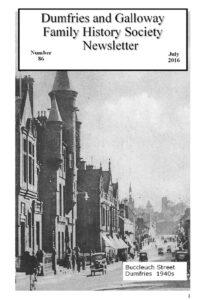 DGFHS Newsletter Vol. 086 201607