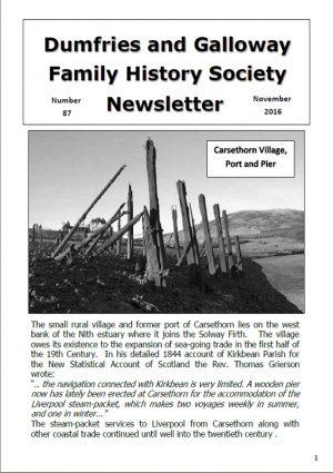 DGFHS Newsletter Vol. 087 201611