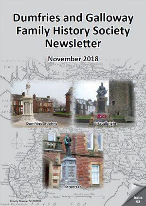 DGFHS Newsletter Vol. 093 201811