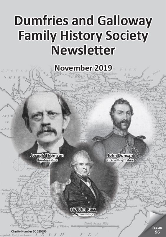 DGFHS Newsletter Vol. 096 201911