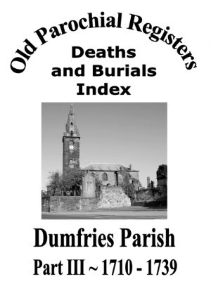 Dumfries OPR Part III 2009