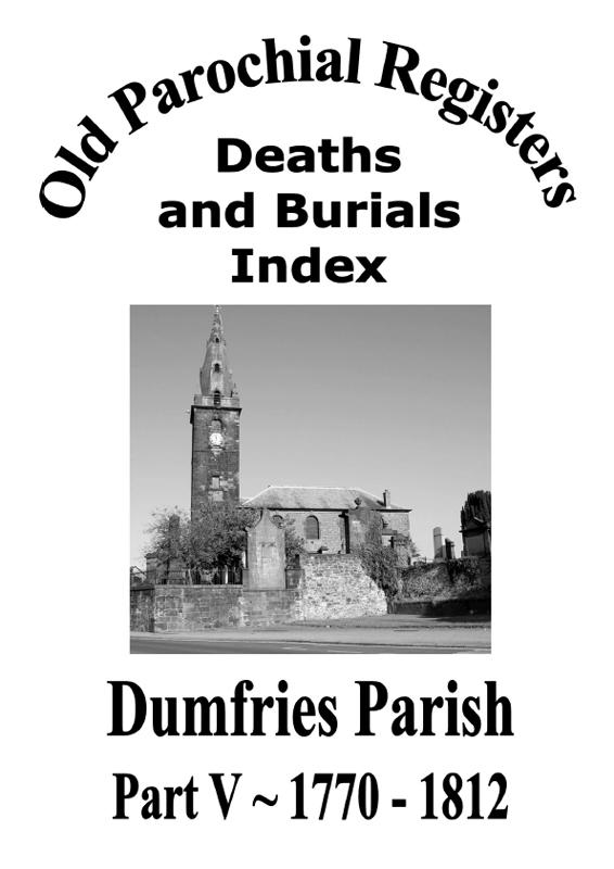 Dumfries OPR Part V 2009