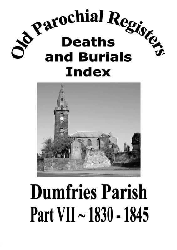 Dumfries OPR Part VII 2009