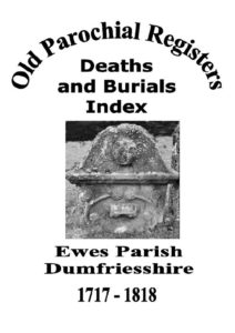 Ewes OPR Deaths and Burials 2004