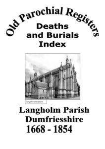 Langholm OPR Deaths and Burials 2008