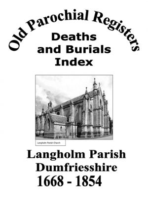 Langholm OPR Deaths and Burials 2008