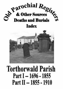 Torthorwald OPR Deaths and Burials 2012
