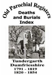 Tundergarth OPR Deaths and Burials 2004