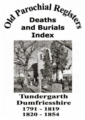 Tundergarth OPR Deaths and Burials 2004