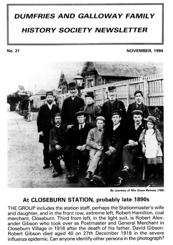 DGFHS Newsletter Vol. 021 199411