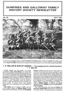 DGFHS Newsletter Vol. 029 199707