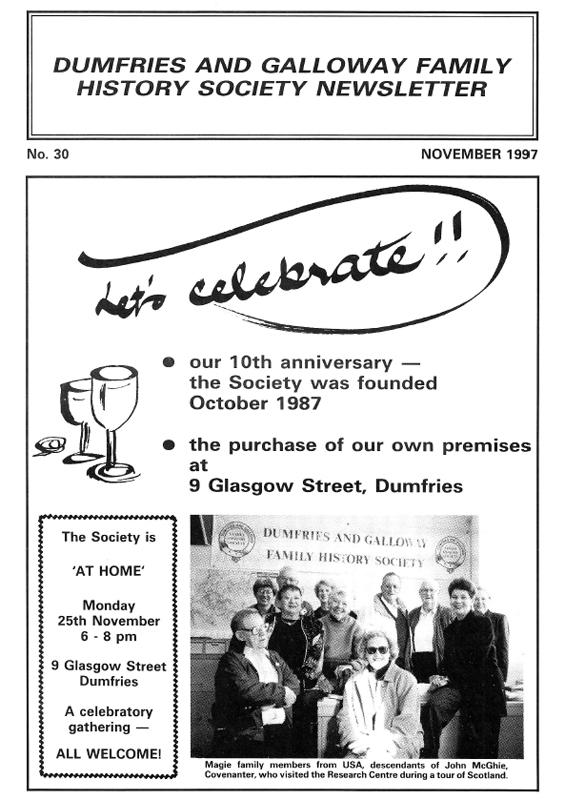 DGFHS Newsletter Vol. 030 199711