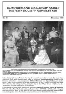 DGFHS Newsletter Vol. 036 199911