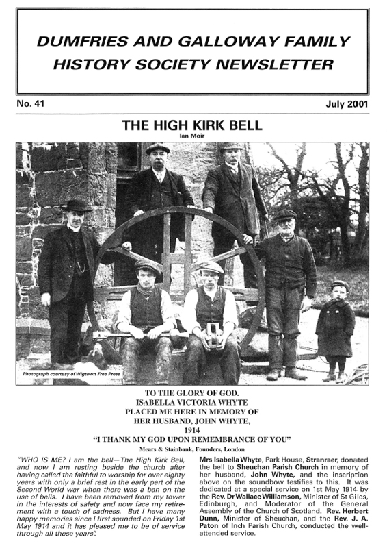 DGFHS Newsletter Vol. 041 200107