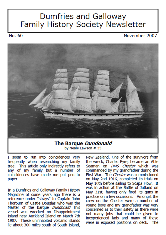 DGFHS Newsletter Vol. 060 200711