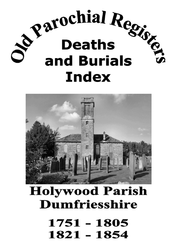 Holywood OPR Deaths and Burials 2007