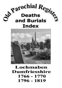 Lochmaben OPR Deaths and Burials 2004