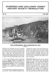 DGFHS Newsletter Vol. 044 200207