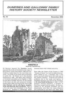 DGFHS Newsletter Vol. 045 200211