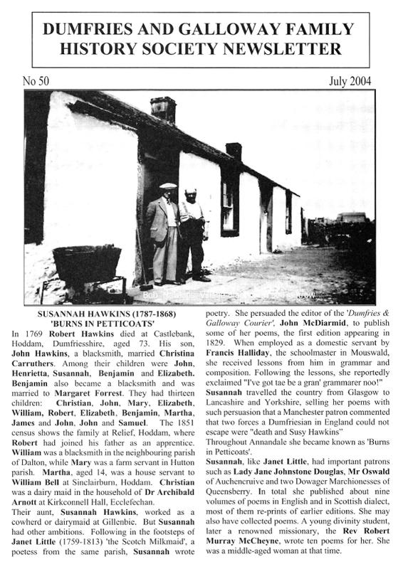 DGFHS Newsletter Vol. 050 200407