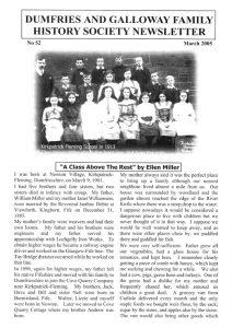 DGFHS Newsletter Vol. 052 200503