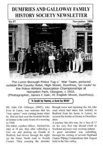 DGFHS Newsletter Vol. 057 200611