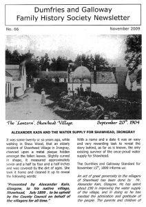 DGFHS Newsletter Vol. 066 200911