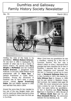DGFHS Newsletter Vol. 070 201103