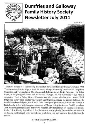DGFHS Newsletter Vol. 071 201107