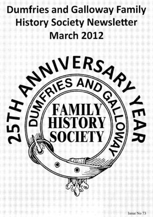 DGFHS Newsletter Vol. 073 201203