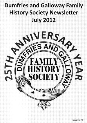 DGFHS Newsletter Vol. 074 201207