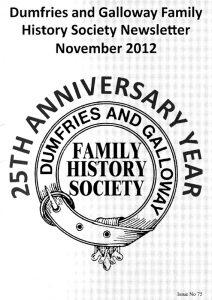 DGFHS Newsletter Vol. 075 201211