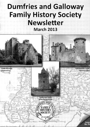 DGFHS Newsletter Vol. 076 201303
