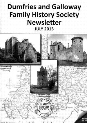 DGFHS Newsletter Vol. 077 201307